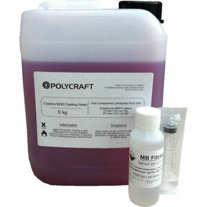 Polycraft-PD9293PA-General-Purpose-Casting-Resin-Hardener-amp-Syringe-5kg