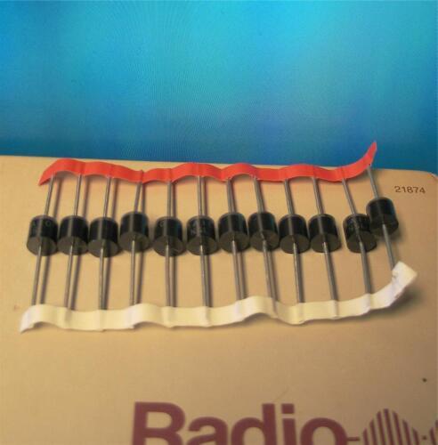 1000 vdc 6 Amp 6A10 diodes on tape QTY25 GS35B Ham Radio 1kv