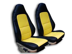 Bmw Z3 1996 2002 Black Yellow Iggee S Leather Custom Fit