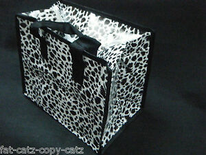 ECO-FRIENDLY-LEOPARD-ANIMAL-SPOTTED-PRINT-LUNCH-SHOPPING-TRAVEL-BAG-FREE-UK-POST