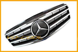 2010-MERCEDES-BENZ-AMG-W212-E-CLASS-E63-E200-E350-E550-BLACK-SPORT-GRILLE-GRILL