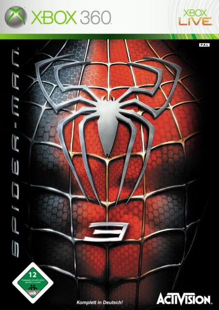 Spider-Man 3 (Microsoft Xbox 360, 2007, DVD-Box)