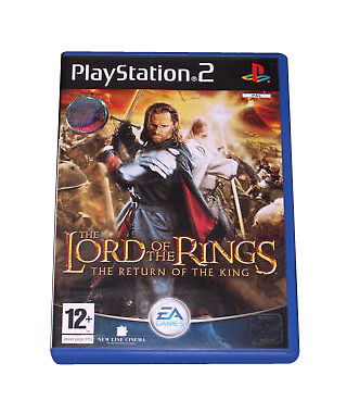 The Lord of the Rings The Return of the King  Sony PS2, With Manual, FREE POST.