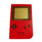 Nintendo Game Boy Pocket Red Handheld System
