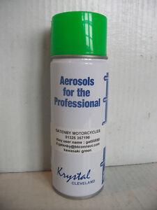 400ml kawasaki green spray paint can aerosol motorcycle zxr zx6r