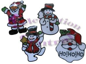 3-PACK-of-GEL-CLINGS-WINDOW-STICKERS-CHRISTMAS-DECORATIONS