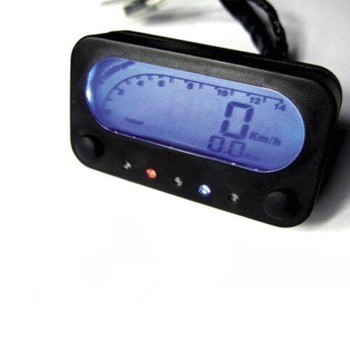 Mini Digital Speedo / Tacho - Ideal Streetfighter Project / Clocks / Cafe Racer