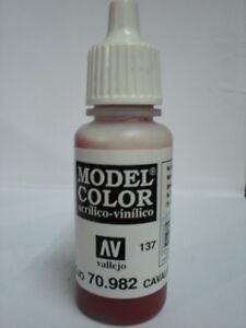 VALLEJO-COLORE-ACRILICO-137-CAVALRY-BROWN-982
