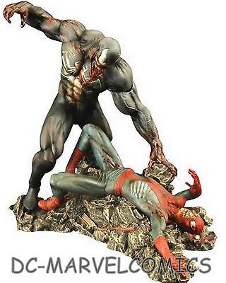 MARVEL MILESTONES SPIDER-MAN VS VENOM ZOMBIE DIORAMA STATUE Sideshow Figurine