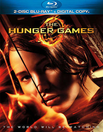 HUNGER GAMES (Blu-ray/Dvd, 2012, 2-Disc) USED WITH SLEEVE