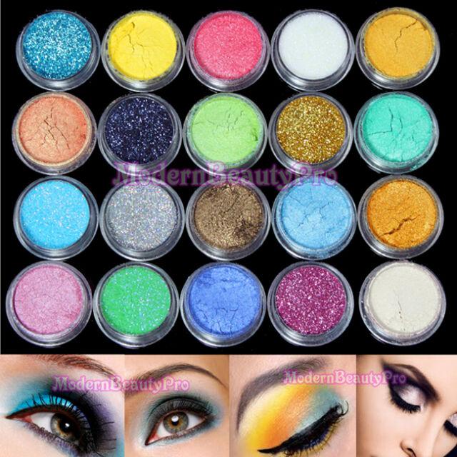 20 Mulit Color Eyeshadow Eye Powder Cosmetics Makeup Salon Artist Set #2