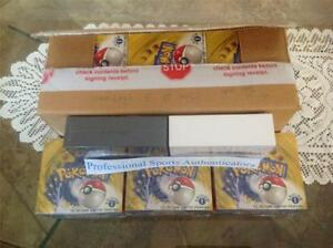 NINE-1st-Edition-Base-English-Boxes-ALL-FACTORY-SEALED-w-CASE-Pokemon-Charizard