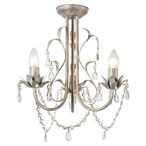 Vintage-Shabby-Chic-Style-Distressed-White-Cream-3-Way-Ceiling-Light-Chandelier