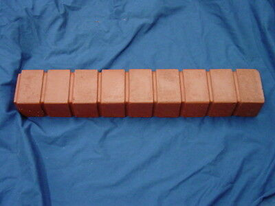 BRICK STRAIGHT BORDER EDGING CONCRETE STEPPING STONE MOLD 5013 Moldcreations