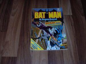 BATMAN-6-Superband-Ehapa-1977-Gotham-zittert-vorm-Schwarzen-Spider