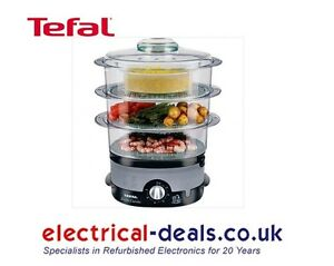 Tefal-VC100715-3-Tier-Ultra-Compact-Steamer-9-Litre-Capacity-Black