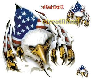 Rip N Tear Eagle Decal Sticker Car Rv Truck Trailer Ebay