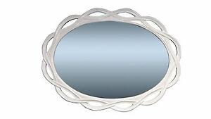 wandspiegel weiss gross xxl spiegel oval badspiegel 120 x. Black Bedroom Furniture Sets. Home Design Ideas