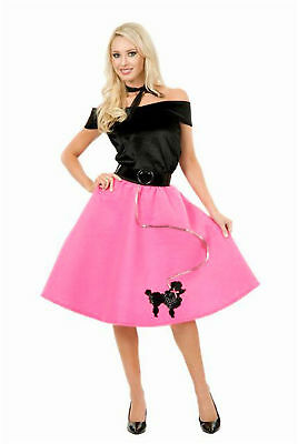 """""""PINK POODLE SKIRT"""" - ADULT PLUS 1X - FUN@HALLOWEEN NEW"""