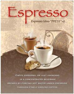 Coffee-Espresso-Cafe-Bar-Pubs-Restaurant-Kitchen-Small-Metal-Tin-Sign
