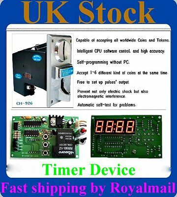 Multi Coin Acceptor Selector CH-926&Timer control board