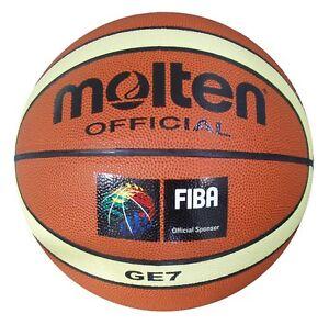 Molten-GE-7-Basketball-Size-7-Mens-Tan-Indoor-Outdoor