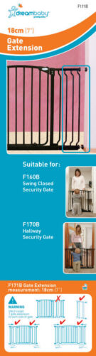 DreamBaby GATE EXTENSION Colors /& Sizes NEED PINS