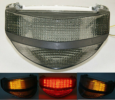 Tail Brake Turn Signals Indicator Led Light Smoke For 2000-2001 HONDA CBR 929 RR