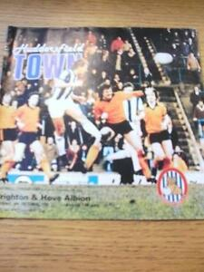 06101981 Huddersfield Town v Brighton And Hove Albion Football League Cup S - <span itemprop=availableAtOrFrom>Birmingham, United Kingdom</span> - Returns accepted within 30 days after the item is delivered, if goods not as described. Buyer assumes responibilty for return proof of postage and costs. Most purchases from business s - Birmingham, United Kingdom