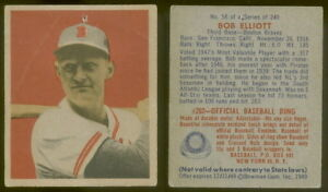 5735-1949-Bowman-58-Bob-Elliott-Gray-Back-Braves-PR