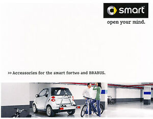 2008 Smart Car Fortwo And Brabus Accessories Original Sales