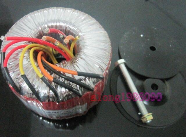 600W Toroid transformer Input:0-115-230V  Out:50V-0-50V     12V-0-12V