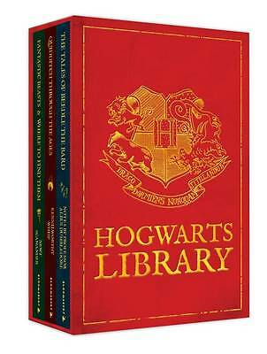 J.K. Rowling The Hogwarts Library Boxed Set 3 Books Collection Pack Set