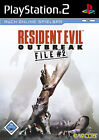 Resident Evil: Outbreak File #2 (Sony PlayStation 2, 2005, DVD-Box)