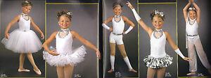 MIX-N-MATCH-WHITE-DIAMONDS-Ballet-Jazz-Harem-Tutu-Halloween-Dance-Costume