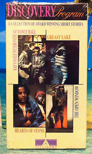 Discovery-Program-Four-Short-Stories-VHS-Greasy-Lake-The-Open-Window-1990-VHS