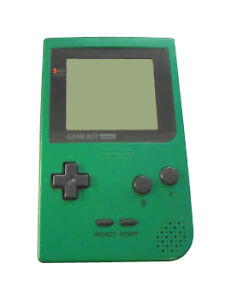Details about Nintendo Game Boy Pocket Launch Edition Green Handheld System