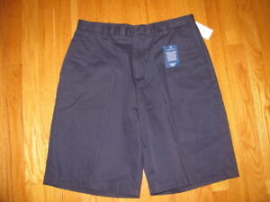 NWT-Lands-End-Navy-Casual-Shorts-Size-10-NEW
