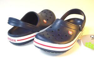 Crocs-Crocband-Clog-Navy-Blue-Men-Size-M8W10-M9W11-M10W12-M11-M12-M13-40-SALE