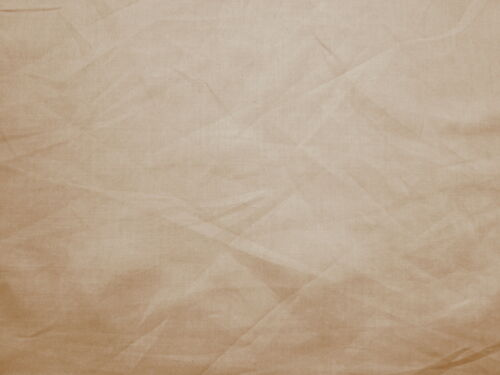 Awesome LIGHT PUTTY BROWN MOCHA Light Weight 100% COTTON Solid SOFT Fabric