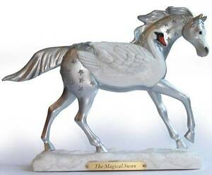 2011-TRAIL-OF-PAINTED-PONIES-THE-MAGICAL-SWAN-1E-NIB