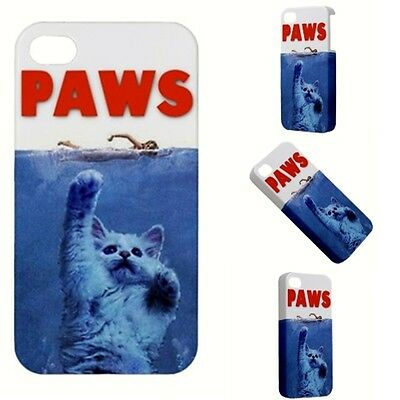 PAWS Movie PARODY Funny Hilarious kitten felines cat attack  iPhone 5  5s  CASE