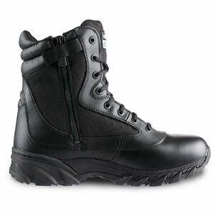 Original-Swat-Chase-9-034-Tactical-Police-Military-Boots-w-Side-Zip-Black-1312