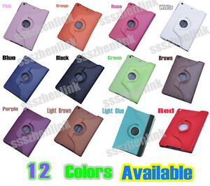 360-Degree-Rotating-PU-leather-Stand-Case-Cover-For-Apple-iPad-Mini-12-Color