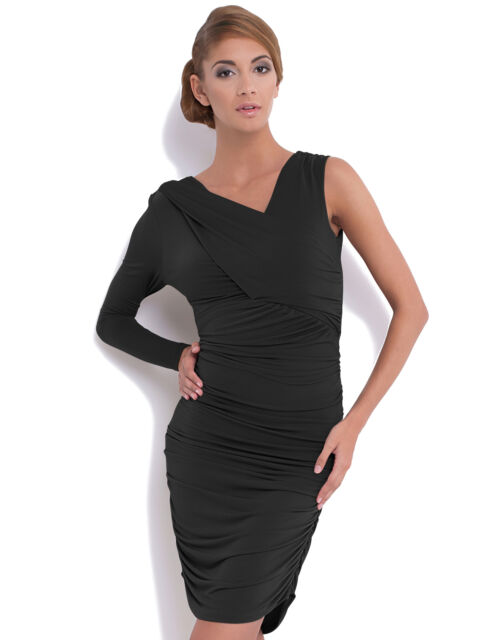 RRP £49 New Ladies Womens Party Evening Bodycon Dress UK Size 6 - 16   ST61