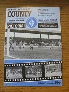 13121985 Stockport County v Wrexham  Team Changes Item In very good conditi - <span itemprop=availableAtOrFrom>Birmingham, United Kingdom</span> - Returns accepted within 30 days after the item is delivered, if goods not as described. Buyer assumes responibilty for return proof of postage and costs. Most purchases from business s - Birmingham, United Kingdom