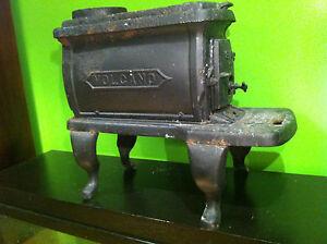 Antique volcano cast iron wood stove oven jacksonville florida ebay