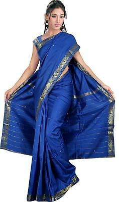 Art Silk Sari saree Curtain Drape Panel Quilt Fabric C1