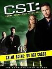 C.S.I. - Crime Scene Investigation - Vegas - Series 5 - Complete (DVD, 2006, 6-Disc Set)