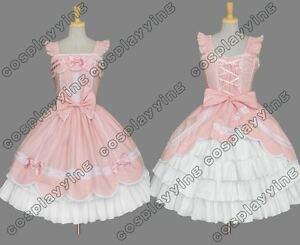 Pink-amp-White-Gothic-Lolita-Long-Sleeve-Dress-GL061